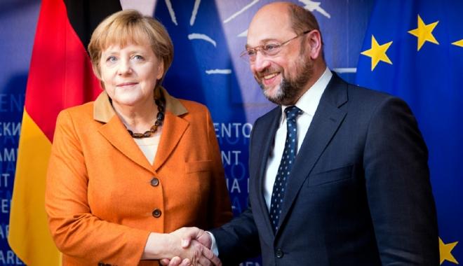 Foto: Social-democrații germani, invitaţi să ia  în calcul participarea la marea coaliție