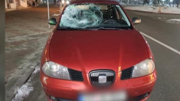 Foto: Şoferul de 18 ani care a omorât un om recidivează! A băgat un pieton în comă!