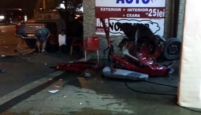Foto: �OFERUL BMW-ULUI IMPLICAT �N TRAGEDIA RUTIER� DE LA CET RISC� �NCHISOAREA
