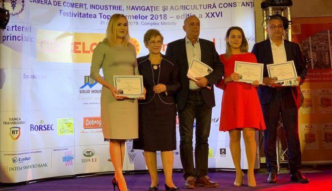 """Foto: """"Solid House"""" a primit Trofeul de Excelență în topul firmelor din Constanța"""