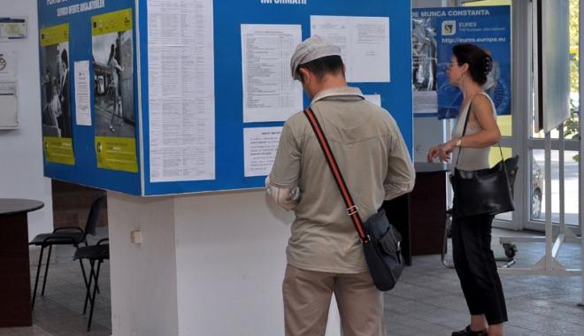 Foto: Constanţa, pe primul loc în ceea ce priveşte şomerii angajaţi