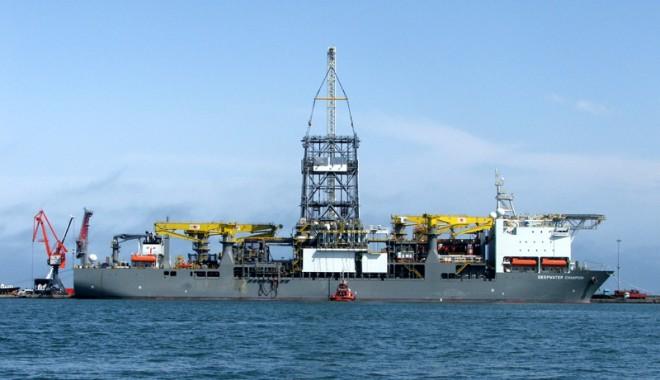 Foto: Extracția de gaze în Marea Neagră ar putea începe spre sfârșitul deceniului