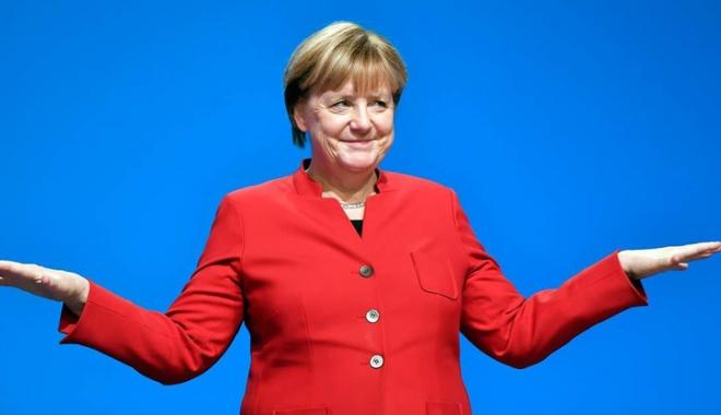 Foto: Sondaj: Angela Merkel, considerată cel mai competent candidat la postul de cancelar