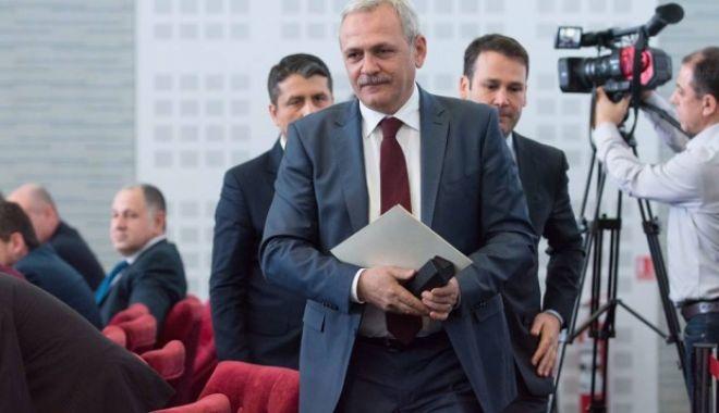 Foto: Liviu Dragnea, despre remaniere şi numirea noilor miniştri: Aşteptăm decizia Curţii Constituţionale, care e fundamentală