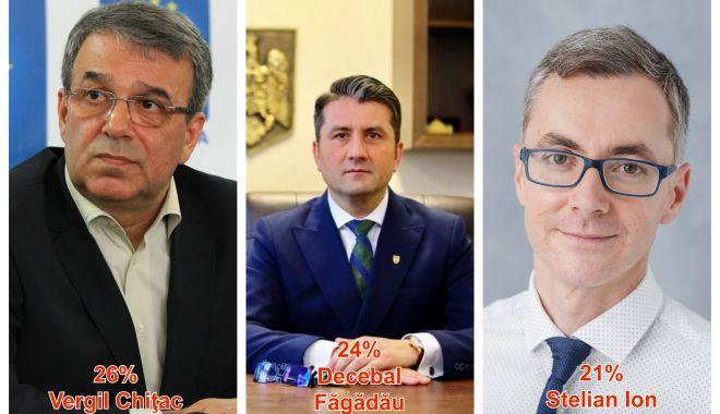 Foto: Chițac și Făgădău în marja de eroare, Stelian Ion le suflă în ceafă!