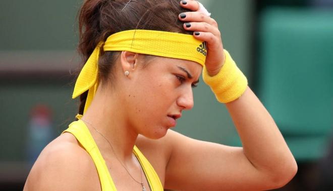 Foto: TENIS / România - Belgia 0-2, în Fed Cup. Sorana Cîrstea, învinsă de Wickmayer