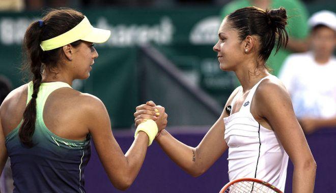 Foto: Tenis, WTA Lugano: Sorana Cîrstea și Andreea Mitu s-au calificat în sferturile probei de dublu