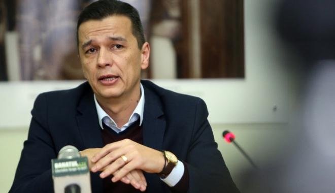 Foto: Sorin Grindeanu,  propus pentru  a prelua funcţia  de preşedinte  al ANCOM