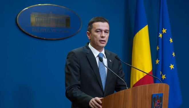 """Foto: Sorin Grindeanu: """"Klaus Iohannis a spus că mai analizează câteva zile bugetul pe 2017"""""""