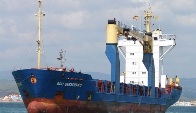 Foto: SOS de pe un cargou cu 14 ucraineni la bord