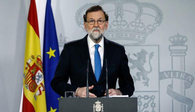 Foto: Spania: Fostul premier Mariano Rajoy şi-a anunţat retragerea de la şefia Partidului Popular