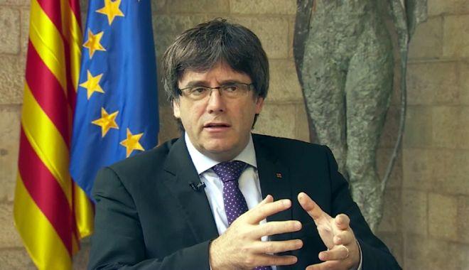 Foto: Spania a emis un mandat de arestare pentru Carles Puigdemont