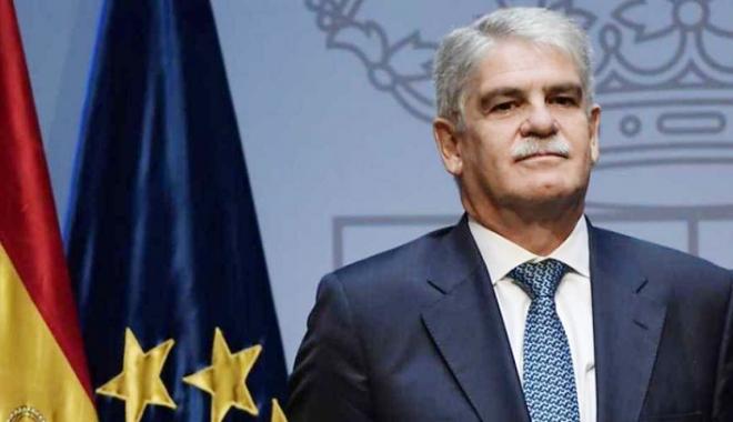 Foto: Şeful diplomaţiei spaniole: Catalonia trebuie să rămână parte  a Spaniei după alegerile din regiune