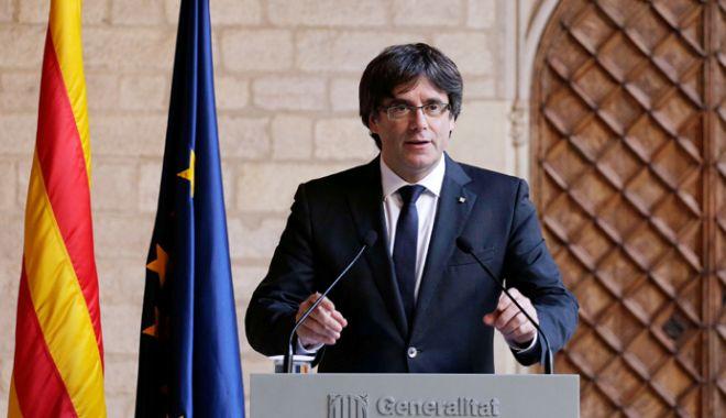 Foto: Spania: Justiția blochează învestirea lui Carles Puigdemont