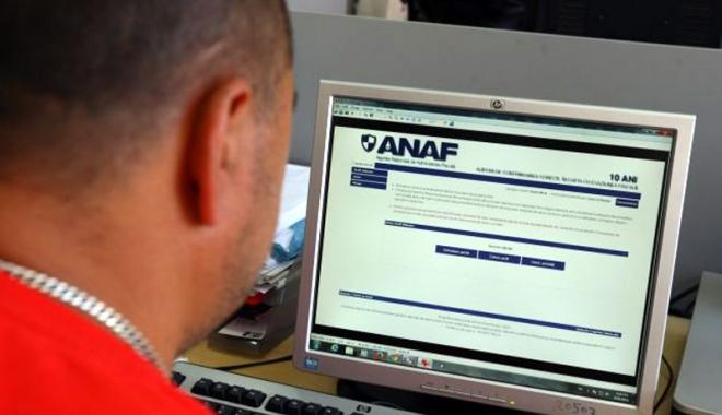 Foto: Persoanele juridice pot folosi serviciul spaţiul privat virtual pentru a comunica cu ANAF