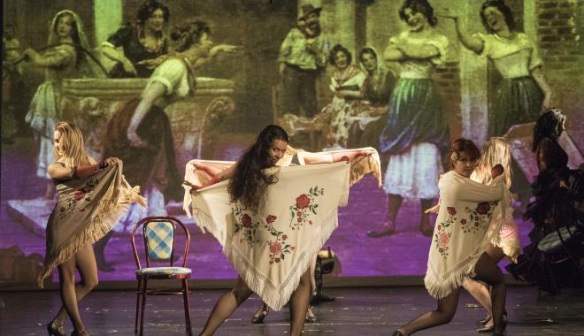 """Foto: Premiera spectacolului """"Carmen, o dragoste mistuitoare"""", la Teatrul pentru Copii și Tineret Constanța """"Căluțul de mare"""""""