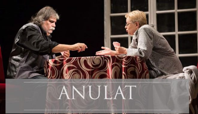 "Foto: Spectacolul ""Gin Rummy"" a fost anulat"