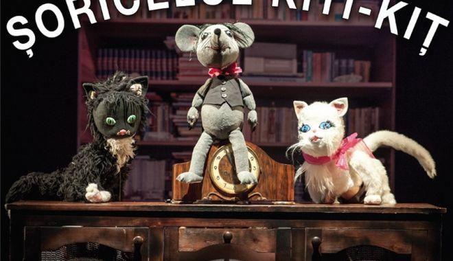 Foto: Spectacolul Şoricelul Kiţi - Kiţ de la Teatrul de Copii a fost anulat