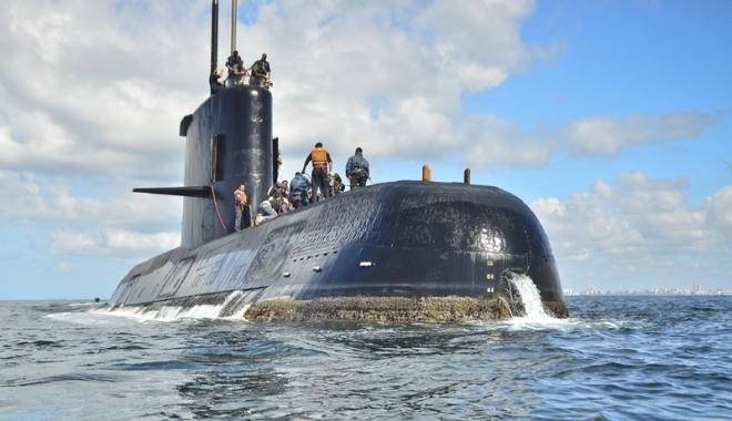 """Foto: Speranţe deşarte!  Submarinul """"San Juan"""", de negăsit"""