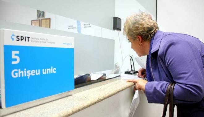 Foto: SPIT Constanţa, măsuri la ghişeele fiscale, pentru evitarea aglomeraţiei