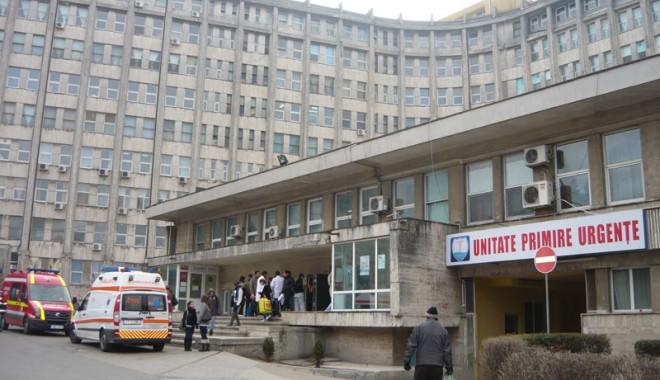 Foto: Spitalul de Urgenţă începe igienizarea secţiilor