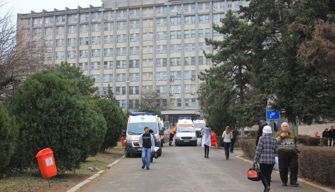 Foto: Curtea de Conturi vine la Spitalul de Urgenţă din Constanţa
