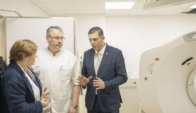 Foto: Președintele CJC, Horia Țuțuianu, dă asigurări că Radioterapia se redeschide în aprilie