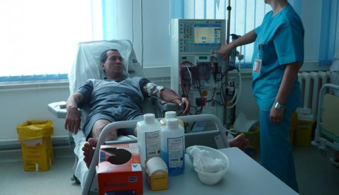 Foto: Calorifere fierbinţi în spital