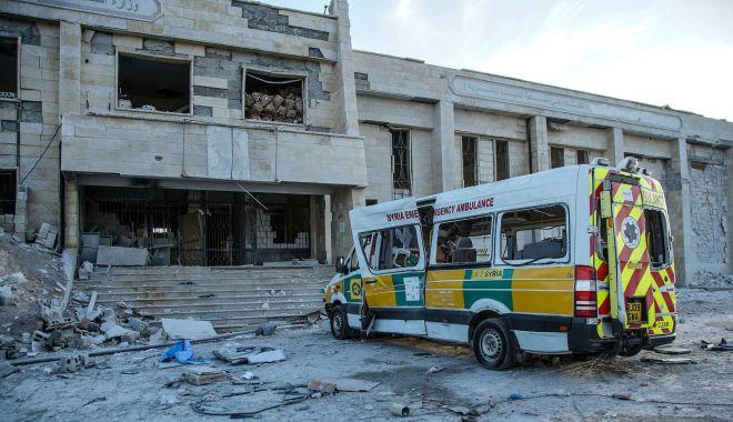 Foto: Spitale bombardate în Siria. ONU cere socoteală Moscovei