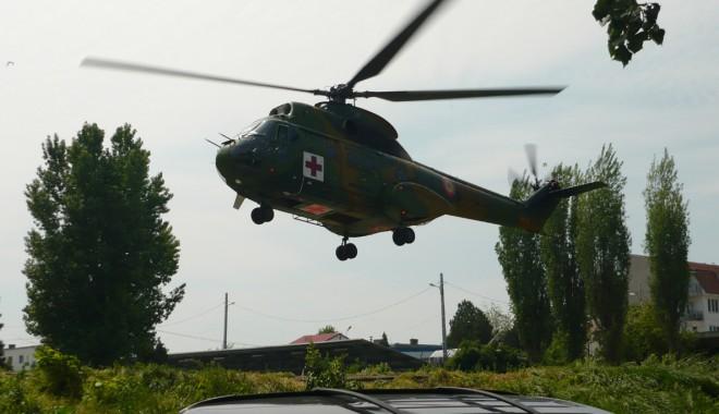 Foto: Heliport  modernizat de americani