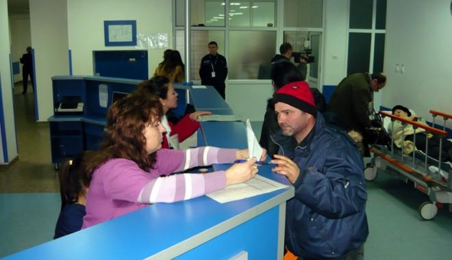 Foto: Spitalul Judeţean Constanţa va primi urgenţele din alte spitale judeţene