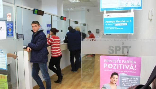 Foto: SPIT: Agenţia fiscală din cartierul Palazu Mare, închisă. Iată ce soluţii aveţi
