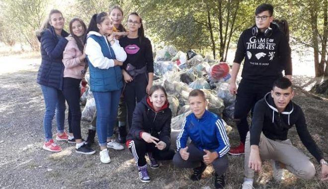 """Foto: DJST Constanța, implicată în proiectul """"Mișcare pentru un mediu curat"""""""