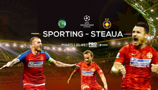 Foto: Sporting - FCSB, REMIZĂ după un meci foarte bun făcut de echipa lui Dică