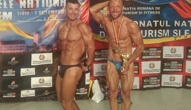 Foto: Sportiv de la CS Farul, campion național la bodybuilding