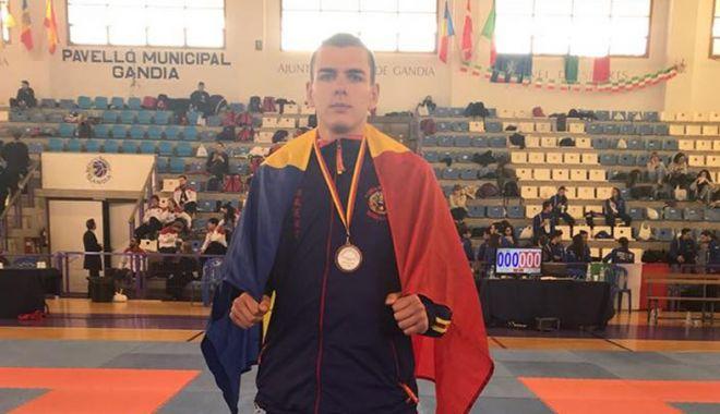 Foto: Sportiv de la CS Aurora 23 August, medaliat cu bronz la Europene