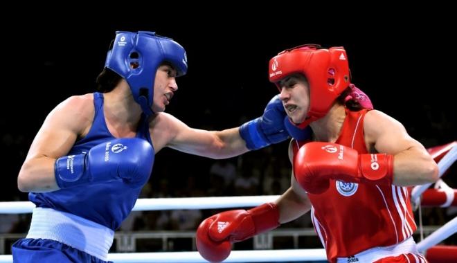 Foto: Sportivă din Mangalia, învinsă în sferturi,  la Europenele de box