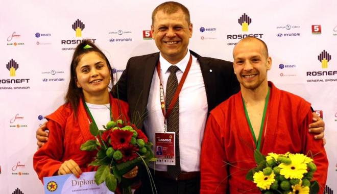Foto: Sportivă de la CS Farul, medaliată cu bronz la Europene