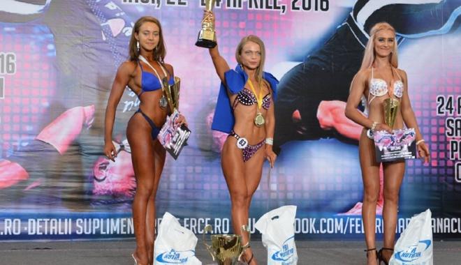 Foto: Sportivii de la CS Farul, medaliați la CN de culturism și body fitness