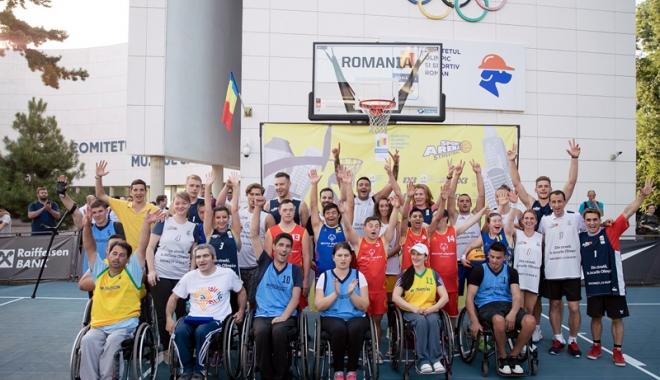 Foto: Sportivii de legendă ai României s-au întrecut pe terenul de baschet
