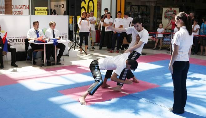 Foto: Sportivii de la  CS Marea Neagră, la Cupa României la Kung-Fu