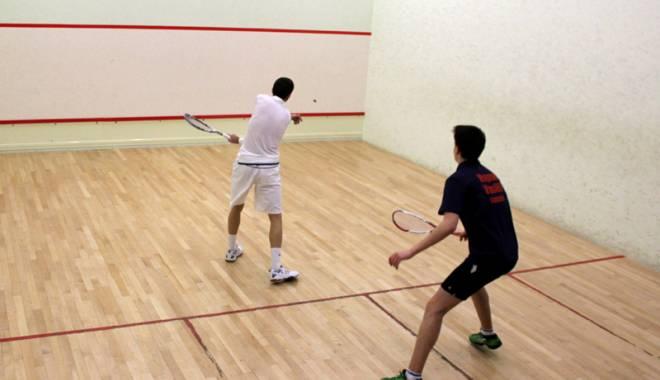 Foto: Jucătorii constănţeni au încheiat sezonul de squash cu Naţionalele de la Timişoara