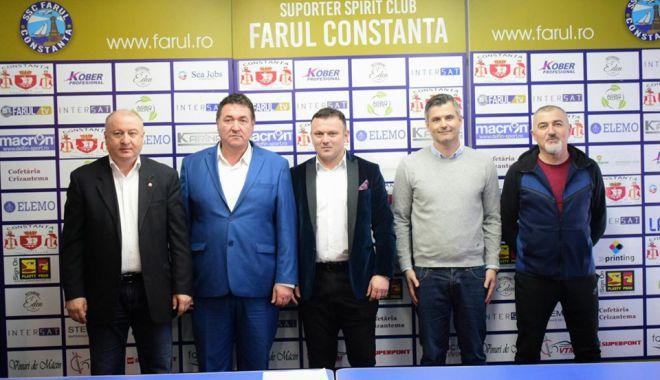"""Foto: Foştii jucători ai Farului s-au alăturat proiectului SSC Farul. """"Obiectivul principal este promovarea"""""""