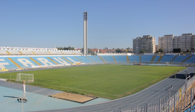 "Foto: Fotbal / S�geata N�vodari va juca meciurile de Liga I pe stadionul ""Farul"""