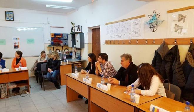 Foto: Stagii de practică în Salonic pentru elevi din Medgidia