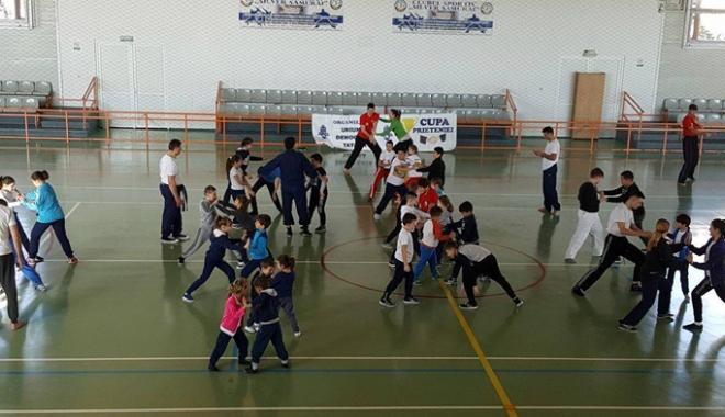 Foto: Stagiu de pregătire în Kung-Fu, la Medgidia
