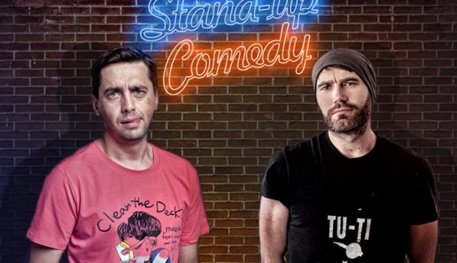 Foto: Stand up cu Cosmin Natanticu şi Adi Bodo
