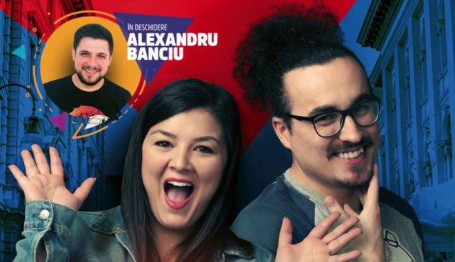 Foto: Stand-up cu Banciu, Mincu şi Maria Popovici