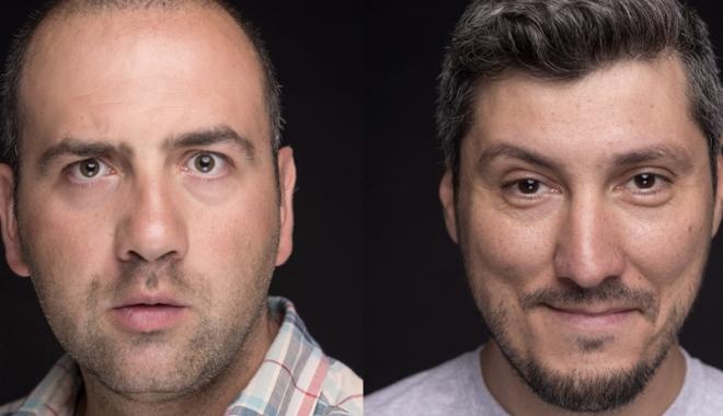 Foto: Stand-up cu Vio �i Sorin, la Harlequin