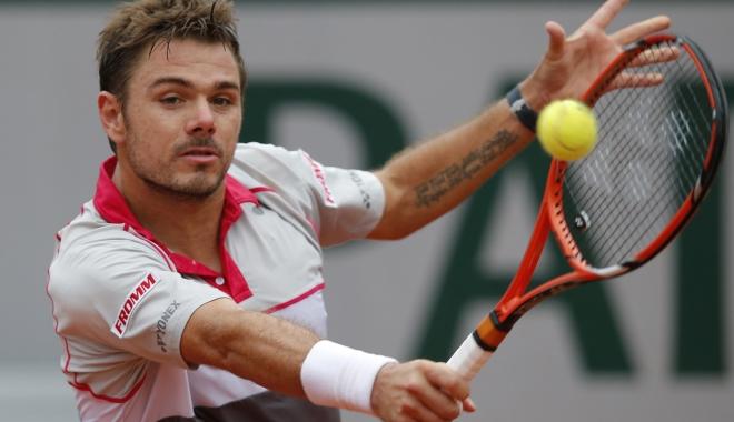 Foto: TENIS / WAWRINKA s-a calificat în sferturile turneului ATP de la Brisbane